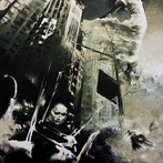 """""""Metropolitan Requiem"""" Acrylic on canvas 2011 ©David Allen Reed"""