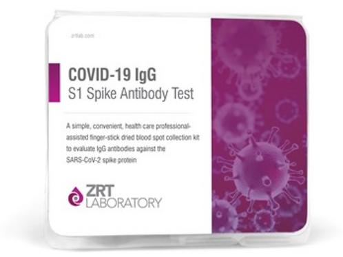 COVID-19 IgG Antibody Test for Possible Immunity