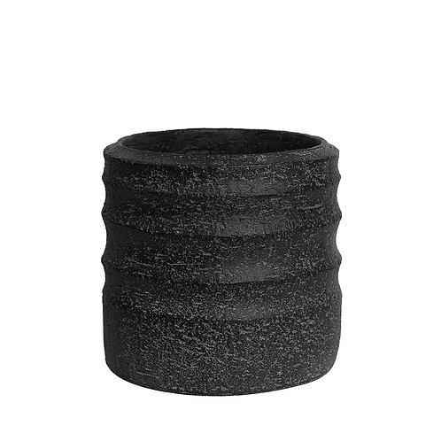 Vaso Buriti P Cor Antique Black