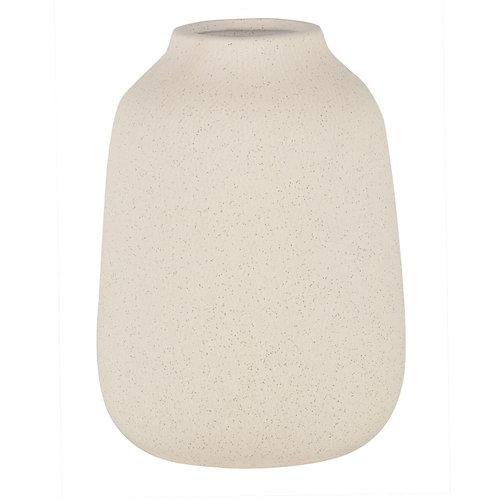 Vaso De Ceramica Branco M