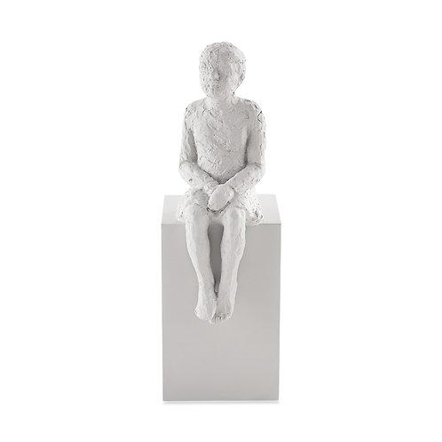 Escultura Pessoa Em Poliresina B