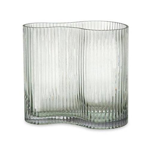 Vaso Em Vidro Transparente P