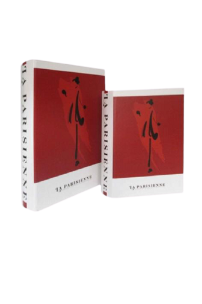 Caixa Livro La Parisiense G