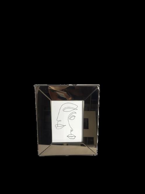 Porta Retrato Heitor 13 X 18cm Bege