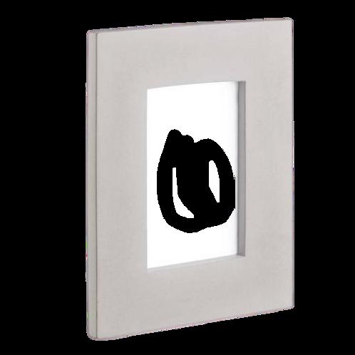 Porta Retrato Em Cimento Claro