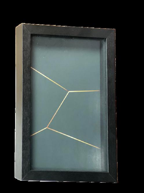 Quadro Geométrico Diamante