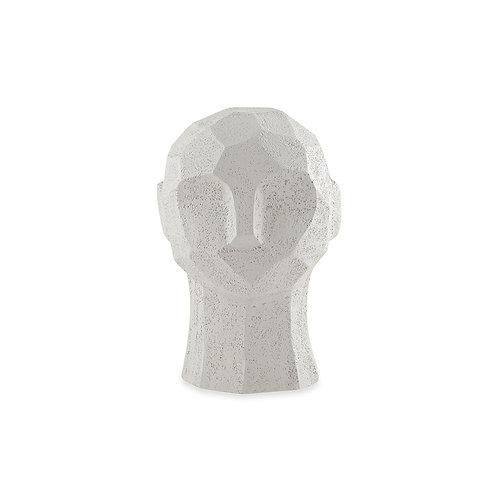 Escultura Cabeça em Poliresina Homem Areia P