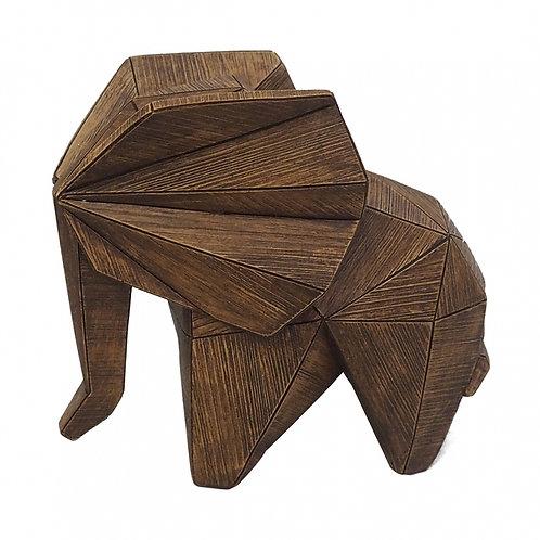 Elefante Decorativo De Resina B