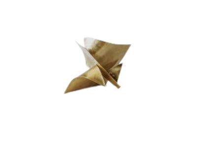 Carambola Quadrada P Latao Dourado