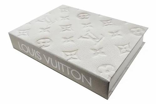 Caixa Livro Louis Vuitton M