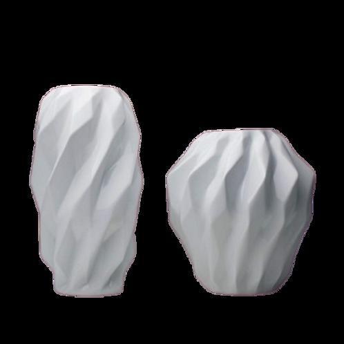 Conjunto Miniatura Plissan Geométrico Branco