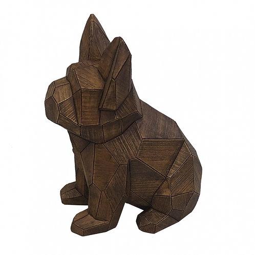 Cachorro Decorativo De Resina