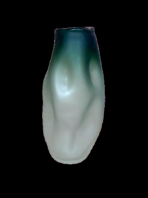 Vaso De Vidro Verde G