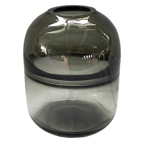 Vaso De Vidro Transparente Fume