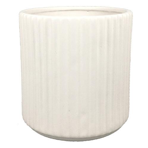 Vaso De Ceramica Branco