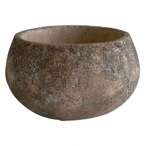 Cachepot De Cimento  Pedra