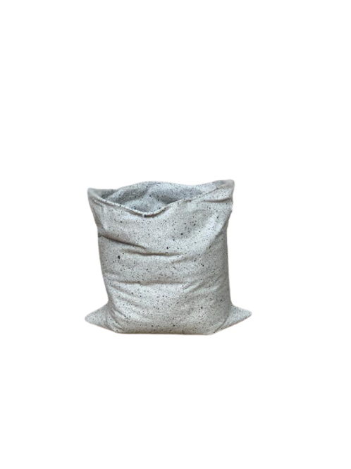 Vaso Reutilize Aberta Porcelana Areia A