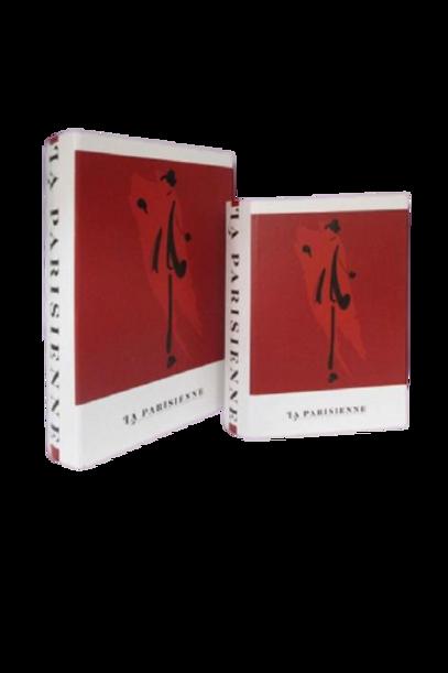 Caixa Livro La Parisiense P