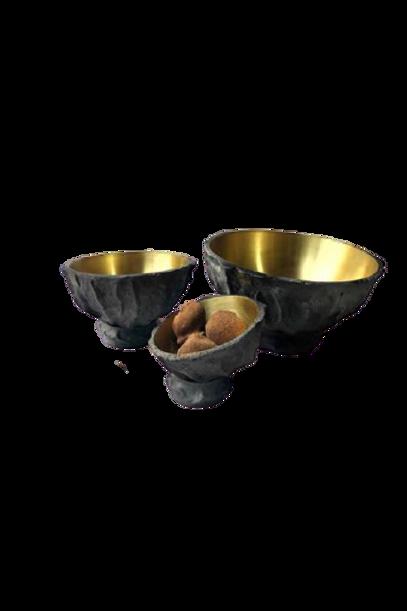 Bowl Esqueleto Latão G