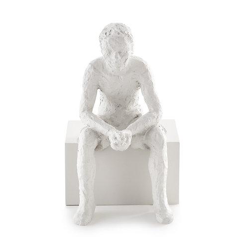 Escultura Pessoa Em Poliresina C