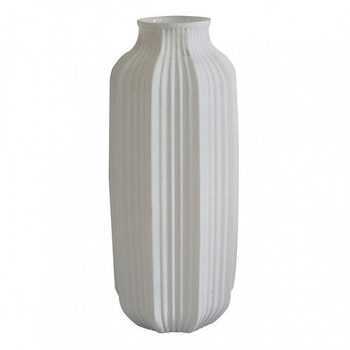 Vaso de Vidro Branco G