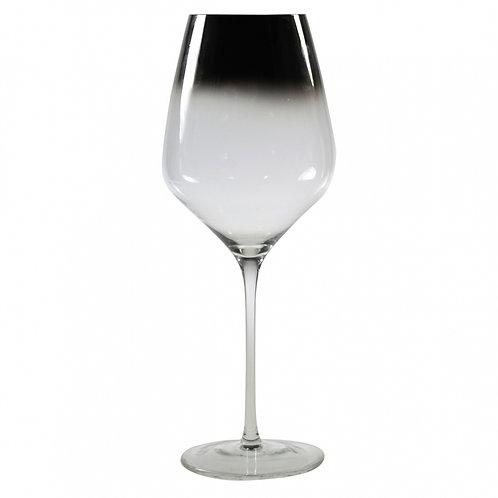 Conjunto De Taças De Vinho Em Vidro Degrade - 6 peças