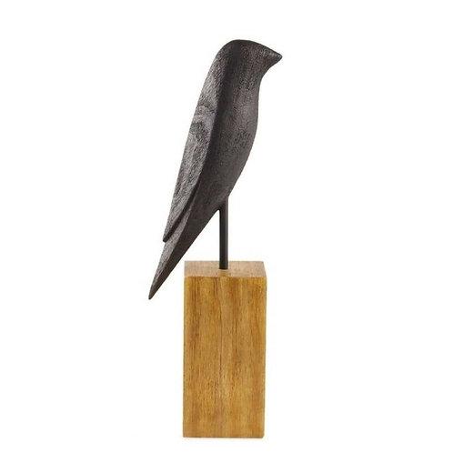Escultura Pássaro Em Poliresina G