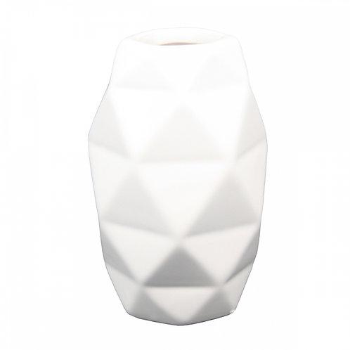 Mini Vaso De Cerâmica  Branco G