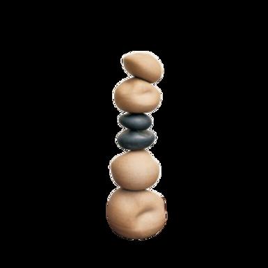 Escultura Pedra II Tabaco/Cobre