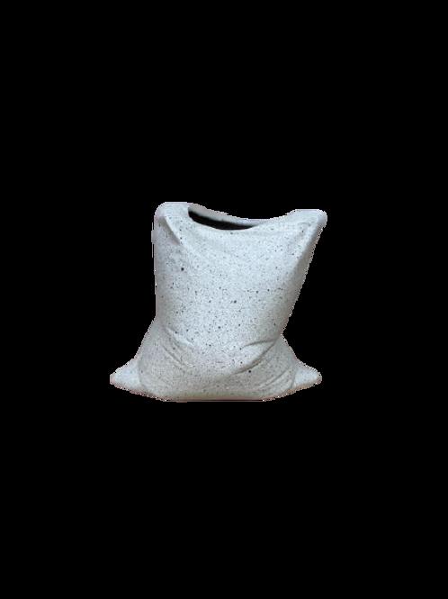 Vaso Reutilize Natural Porcelana Areia A