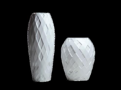 Miniatura Conj. Arlequim / Branco Fosco