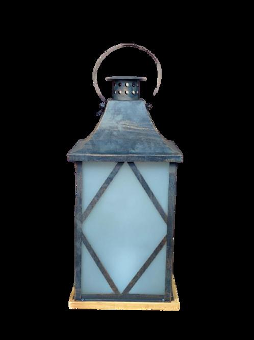 Lanterna Quad Peq 37x17cm