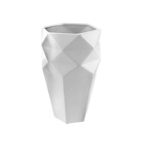 Vaso Geométrico Branco