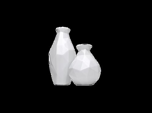 Conjunto Edros Miniatura / Branco Fosco