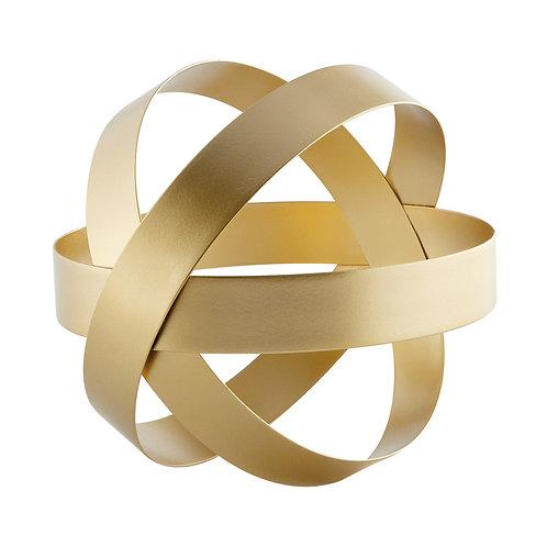 Escultura Dourada em Metal G