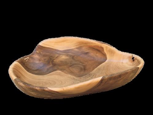 Fruteira artesanal madeira pequi A