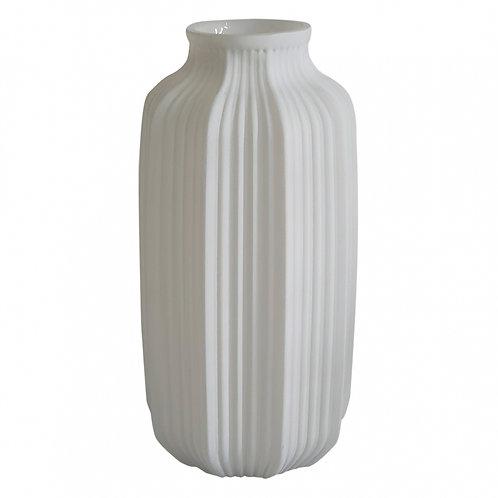 Vaso de Vidro Branco P