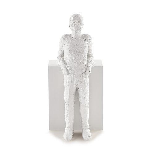 Escultura Pessoa Em Poliresina A