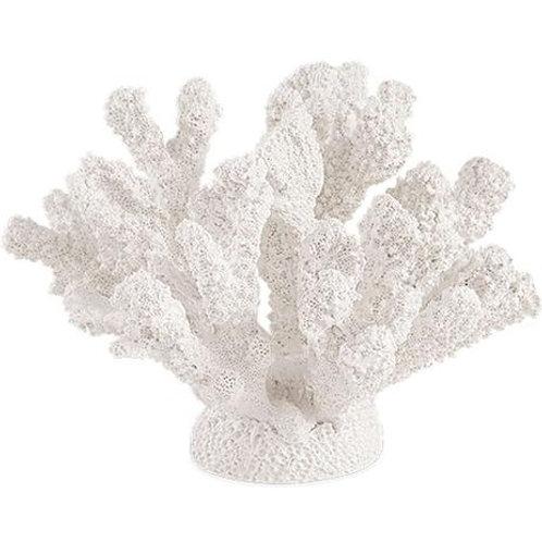Escultura Coral Em Poliresina Com base