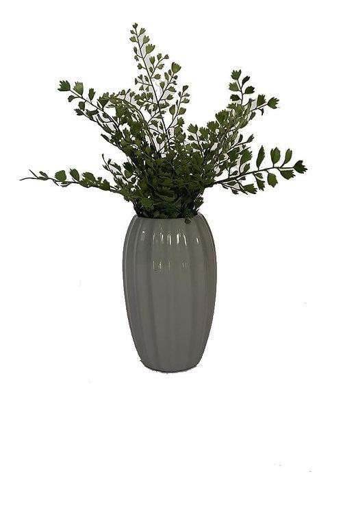 Vaso Estriado Grey