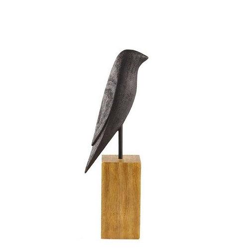 Escultura Pássaro Em Poliresina P