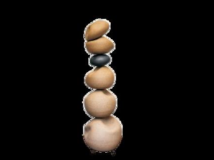 Escultura Pedra I Tabaco/Cobre