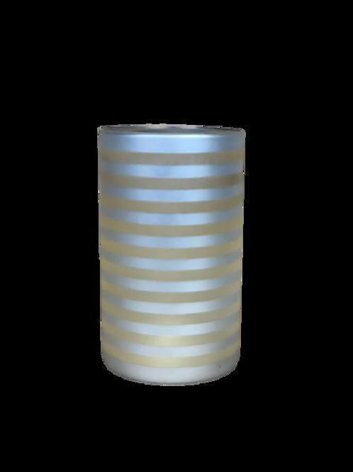 Vaso Stripe Dourado