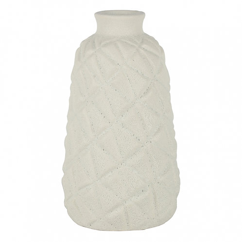 Vaso De Cerâmica Branco G