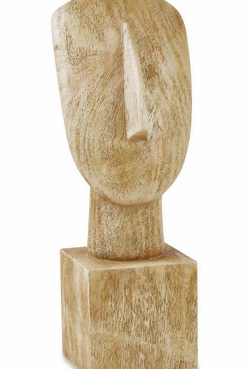 Escultura Face Em Poliresina