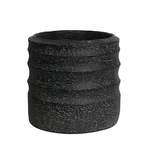 Vaso Buriti M Cor Antique Black