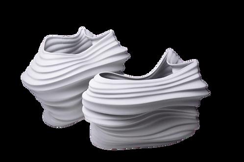 Vaso Miniatura Voo P / Branco Fosco