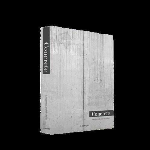 Book Box Concrete Modernist
