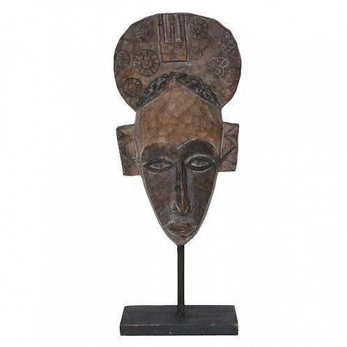 Máscara Decorativa de Resina Étnico