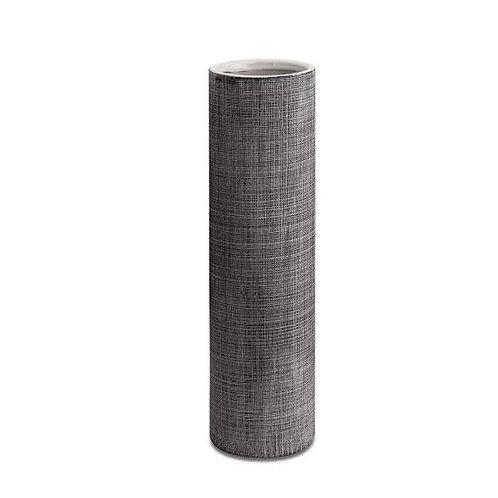 Vaso Cinza Em Cerâmica